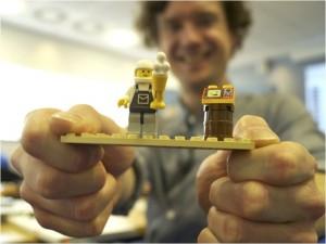 Steve with lego